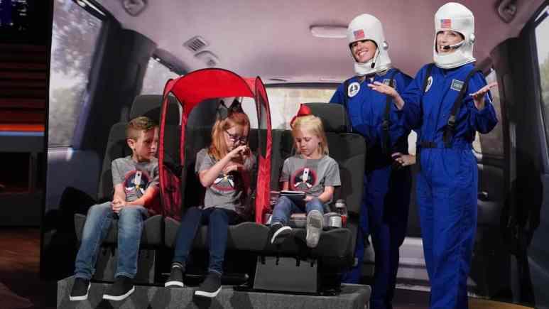 Space Traveler demonstration on Shark Tank