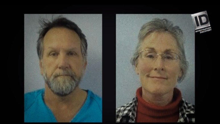Mugshots of Torin and Rena Smith