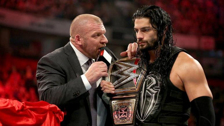 Triple H explains what WWE will do about Roman Reigns backing out of WrestleMania 36