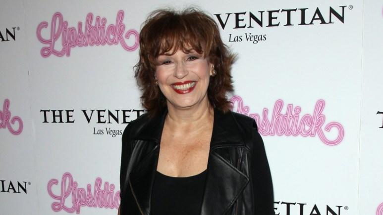 Joy Behar on the red carpet