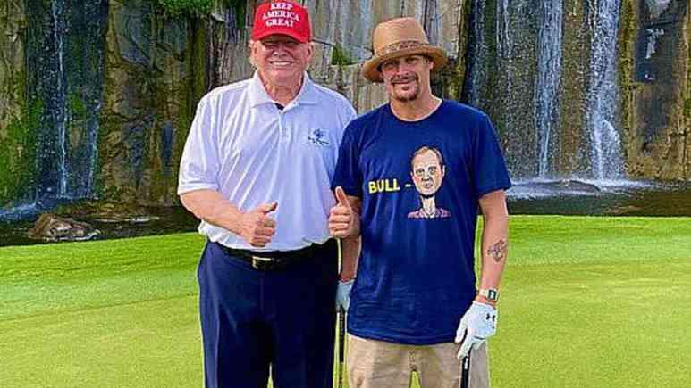 Kid Rock, Donald J Trump