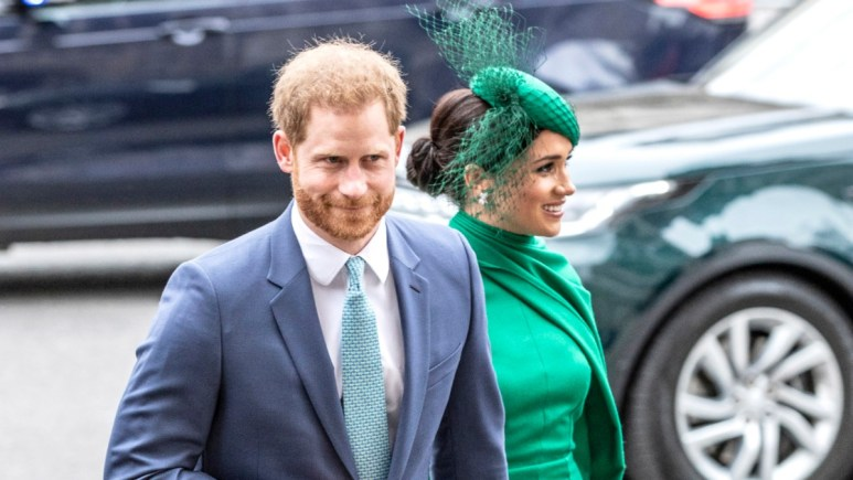 Harry and Meghan at a public engagement