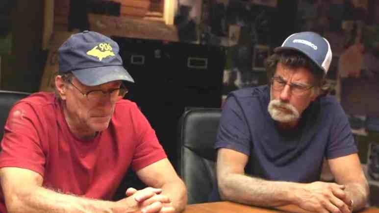 Marty and Rick Lagina in the War Room