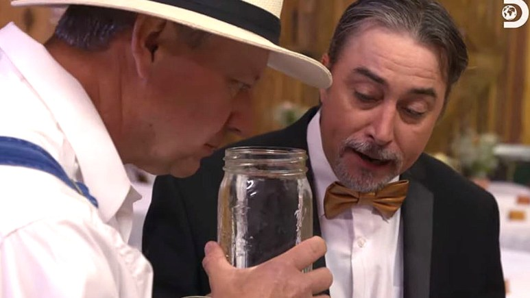 Tickle on Moonshiners