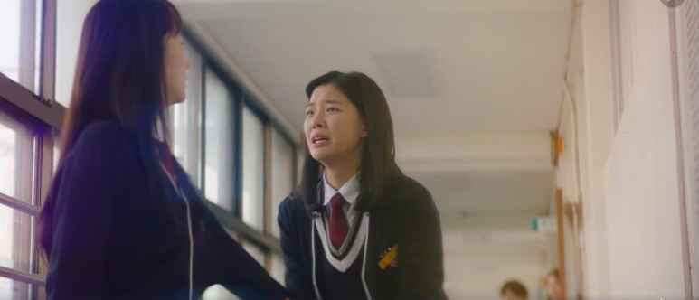 Mok Hae-Won and Kim Bo-Young fight