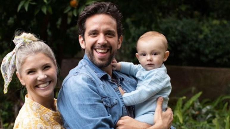 Nick Cordero and his family