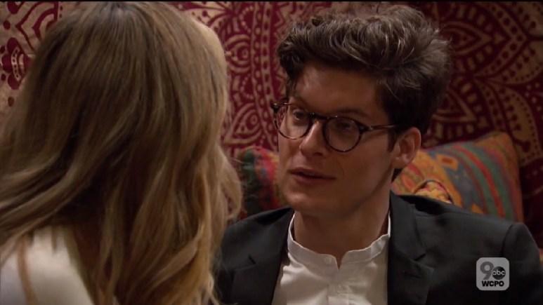 Ryan surprised look talking to Natascha