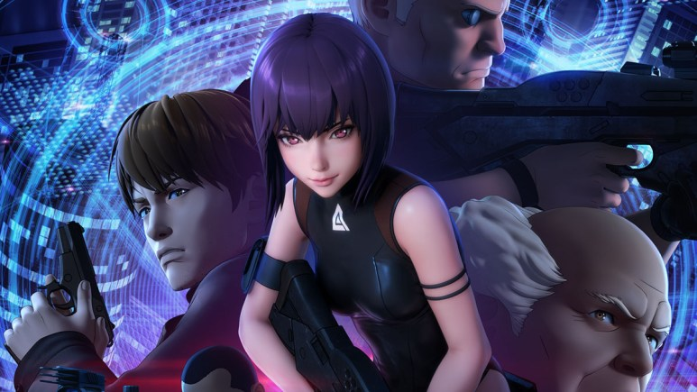 Ghost In The Shell SAC_2045 artwork