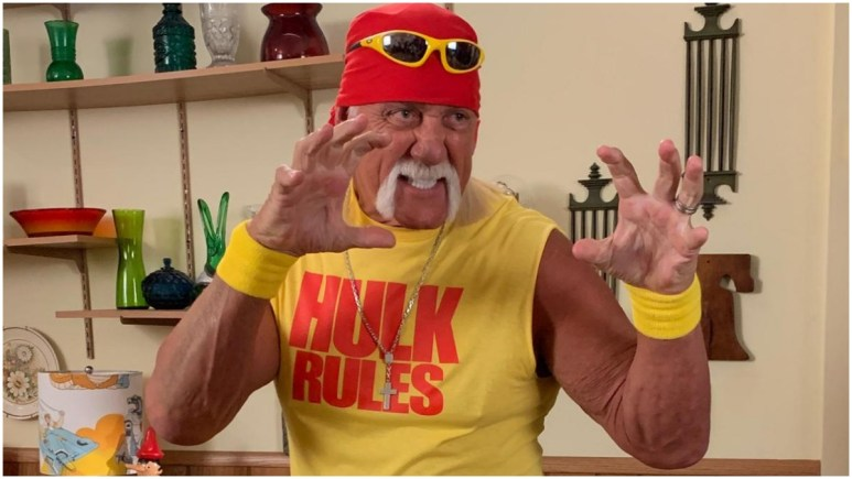 Hulk Hogan claims coronavirus is from God and we don't need a vaccine
