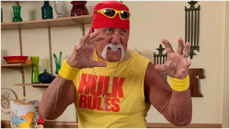 Hulk Hogan claims coronavirus is from God and we don't need a vaccine