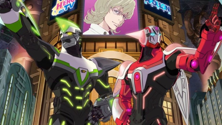 Kotetsu and Barnaby in Tiger and Bunny