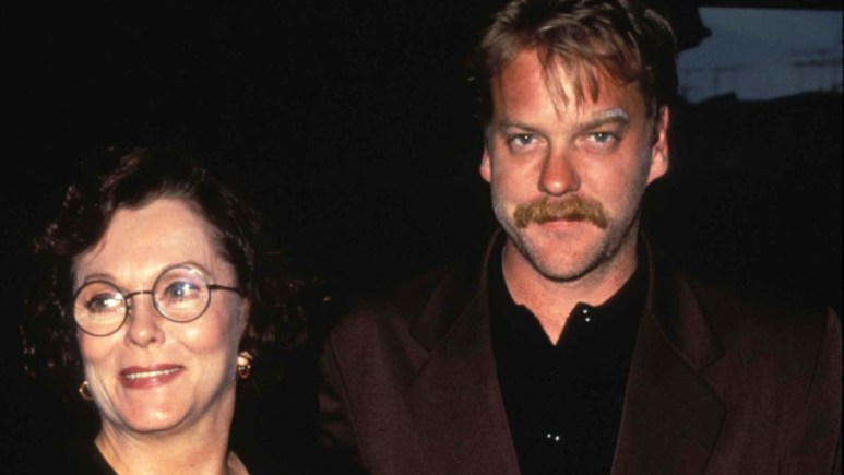 Kiefer Sutherland and Shirley Douglas on the red carpet