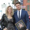 Michael Buble and Luisana Lopilato on the red carpet