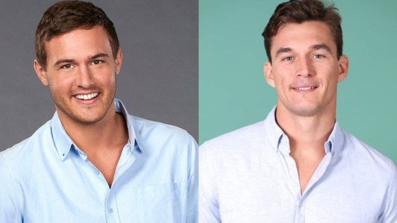 Peter Weber and Tyler Cameron from The Bachelorette