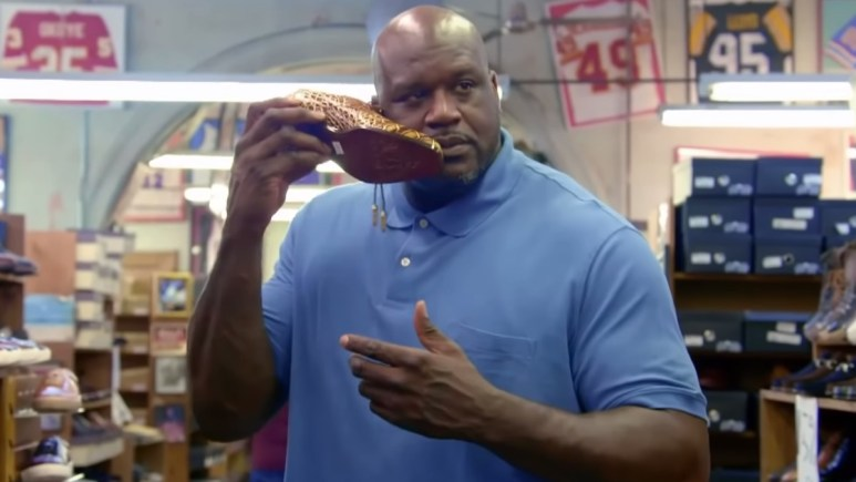 shaquille o'neal on shaq life reality tv show