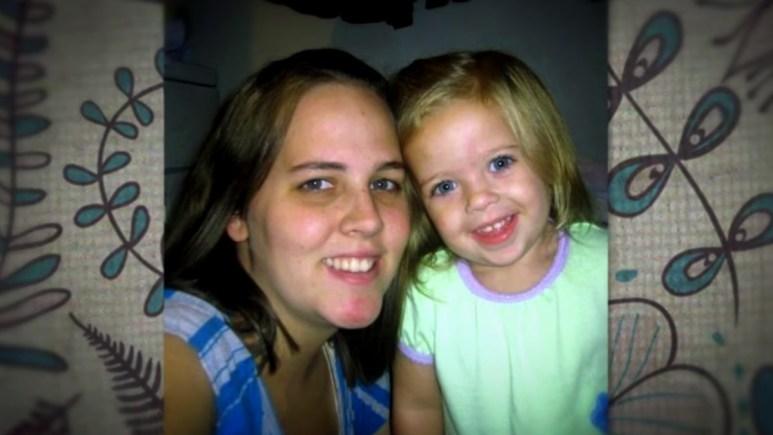 Allison Clark with her daughter