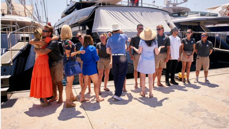 There have been a few drug busts featured in the Below Deck franchise.