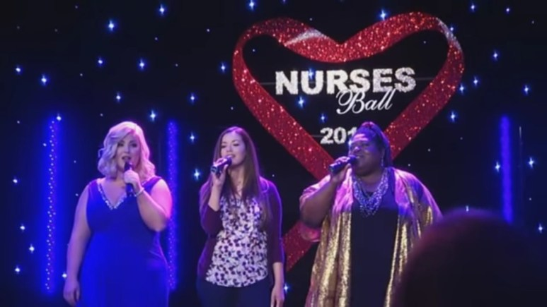A performance from the 2016 Nurses Ball.