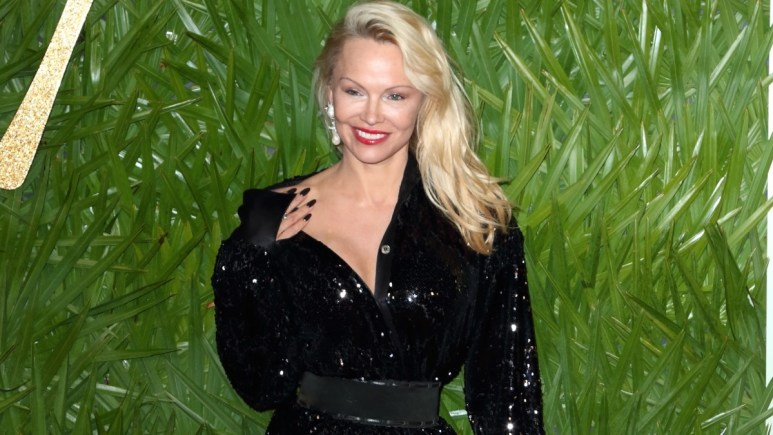 Pamela Anderson Red Carpet