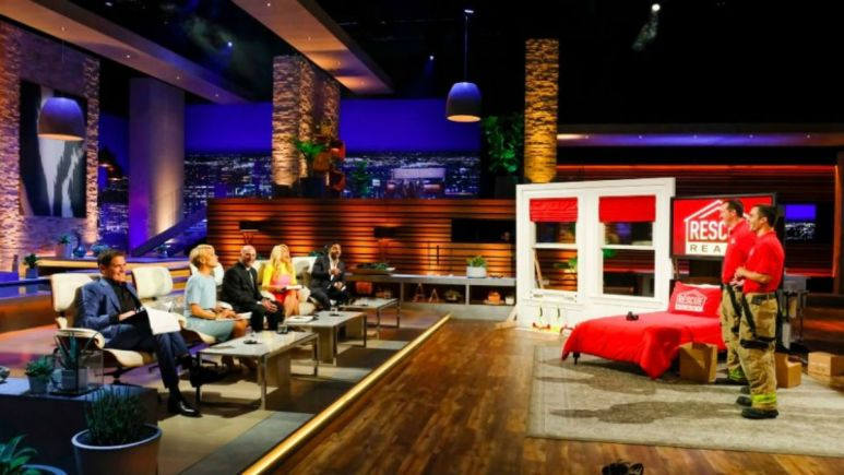 Rescue Ready on Shark Tank is a escape ladder people can keep in their homes.