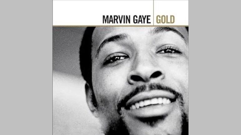 Marvin Gaye's Gold album cover art