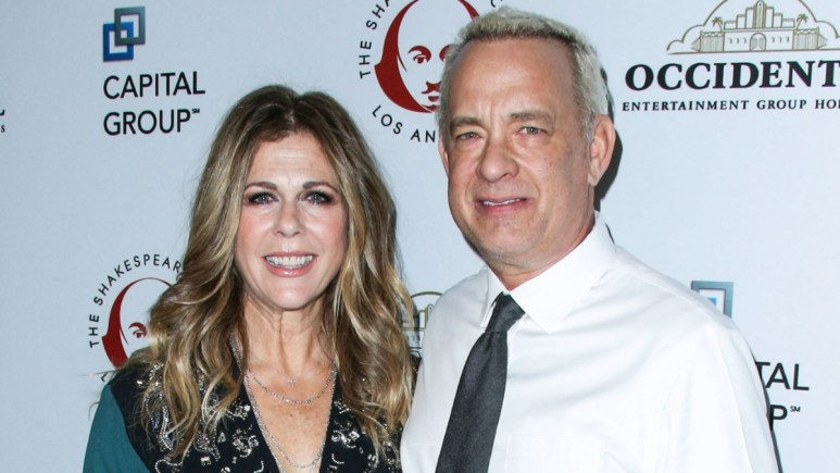 Tom Hanks and Rita Wilson on the red carpet