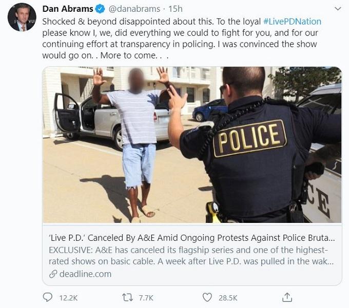 Dan Abrams on Twitter