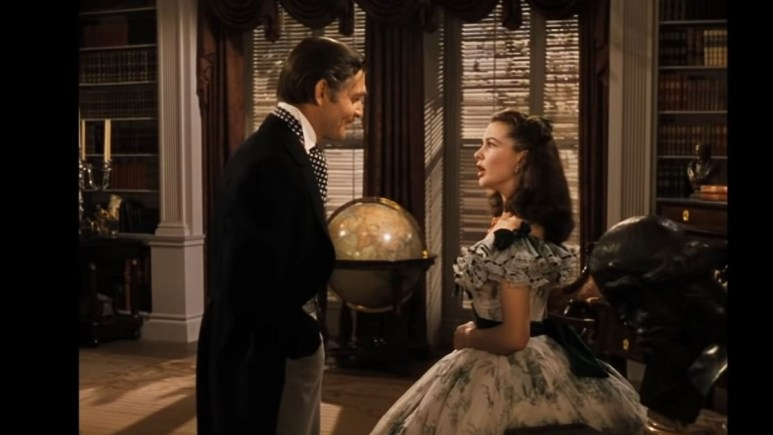 A scene from Gone With the Wind
