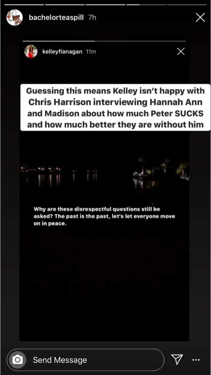 Kelley Flanagan isn't happy