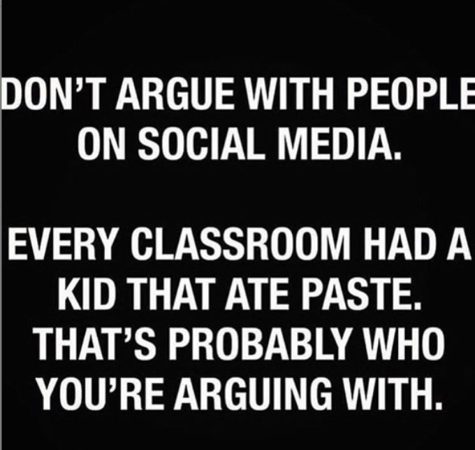 Kelly says she won't argue on social media