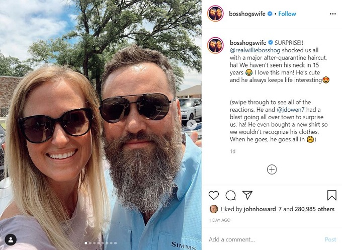 Duck Dynasty's Willie and Korie Robertson