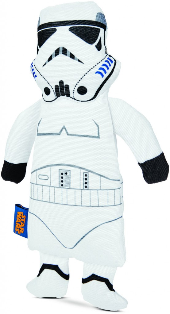 Stormtrooper dog toy