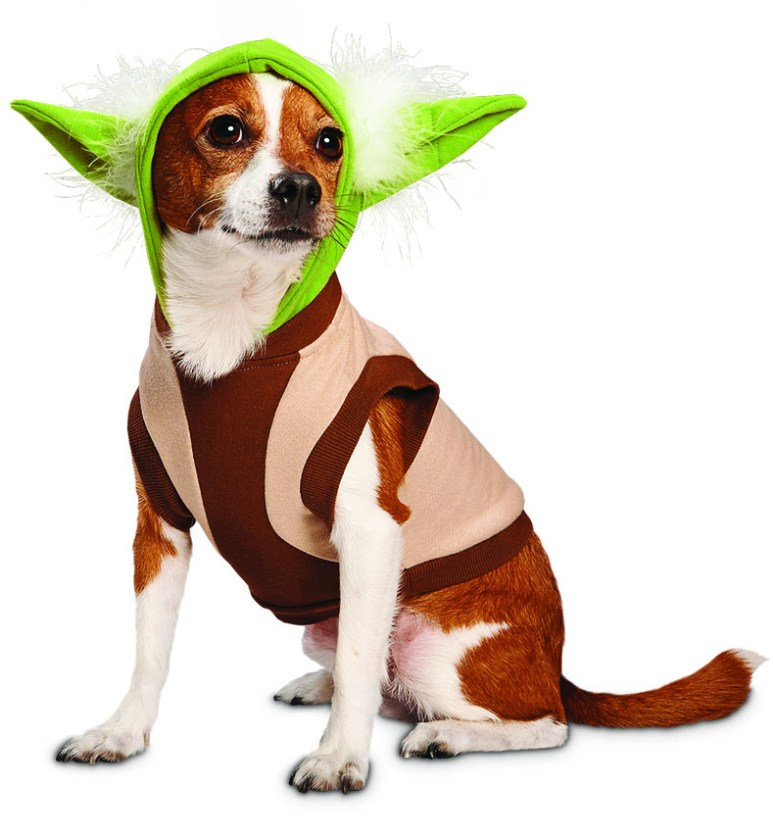 Yoda dog apparel