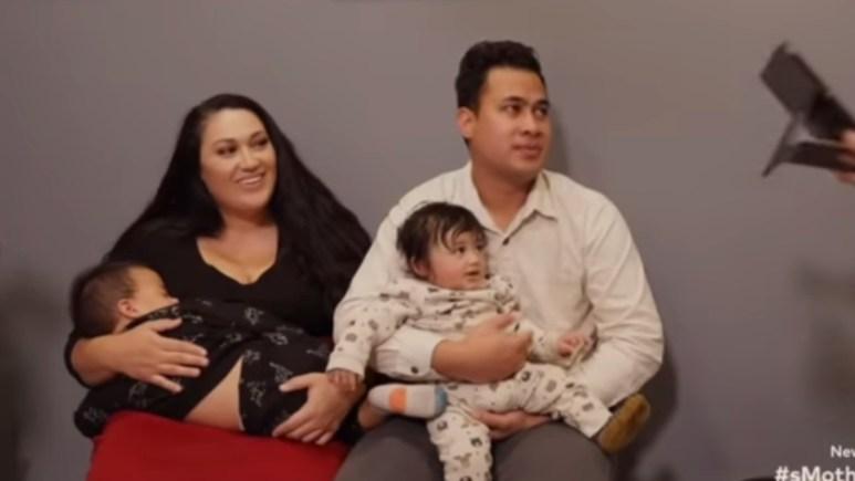 Kalani and Asuelu at the doctor. Pic Credit: TLC