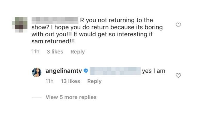 Angelina returning to MTV