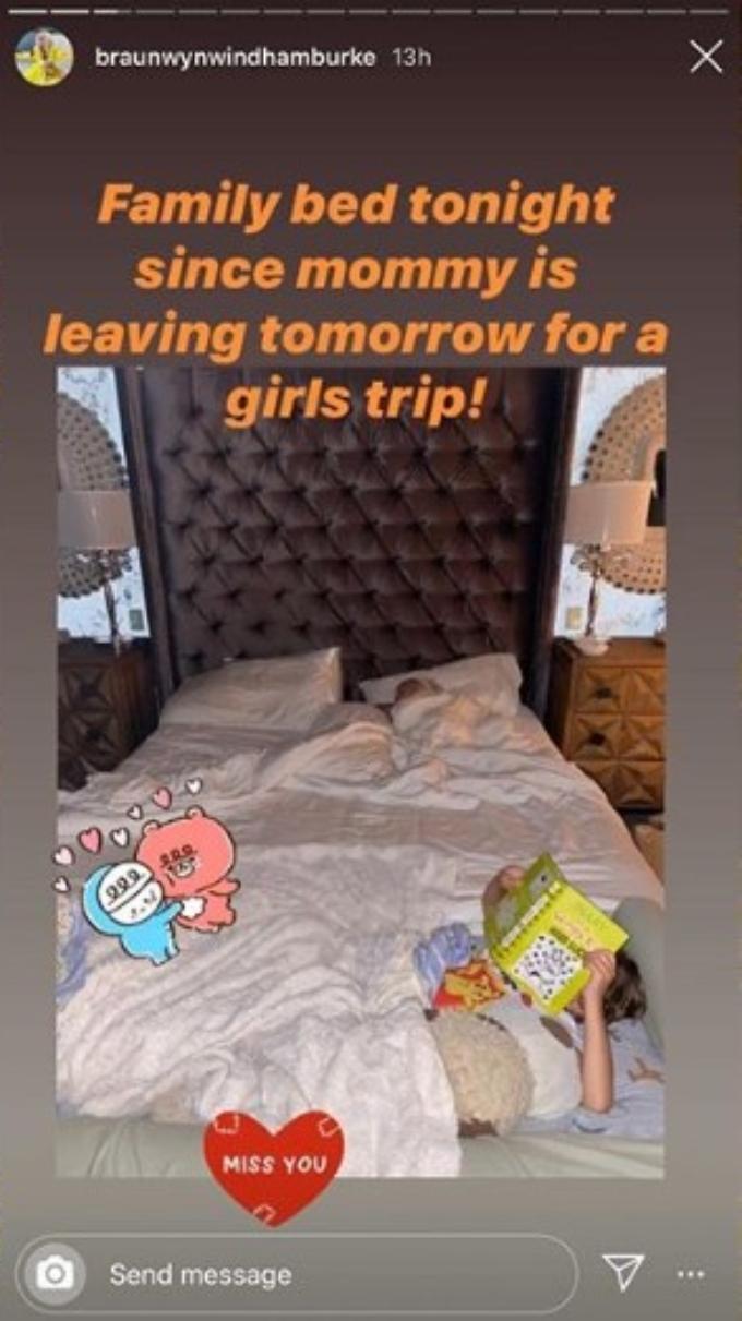 Braunwyn talks girls trip