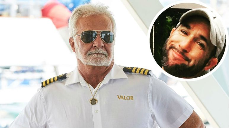 Captain Lee honored his late son Joshua with a memorial tattoo.