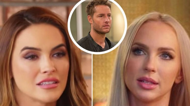 Chrishell Stause responds to Christine Quinn talking about her divorce from This Is Us star Justin Hartley.