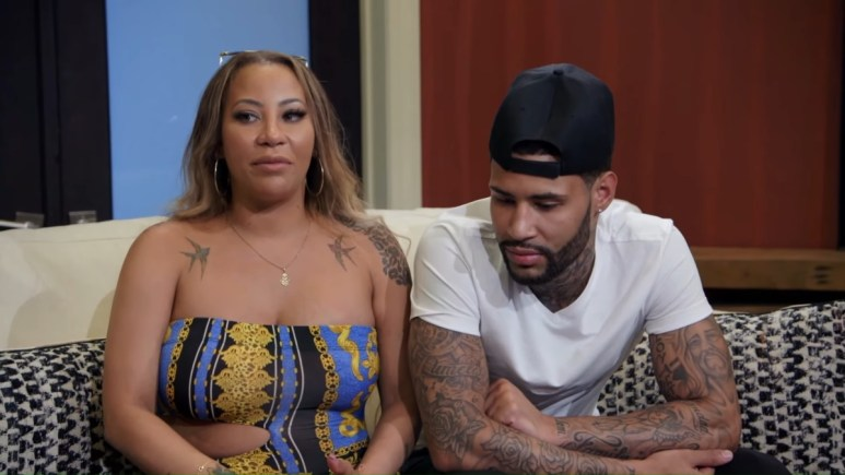 Hazel E and De'Von on Marriage Boot Camp Hip Hop Edition