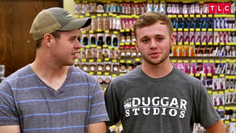 Joe and Jason Duggar in a Counting On confessional.