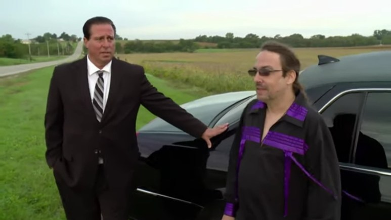 John and the limo driver on Love After Lockup.