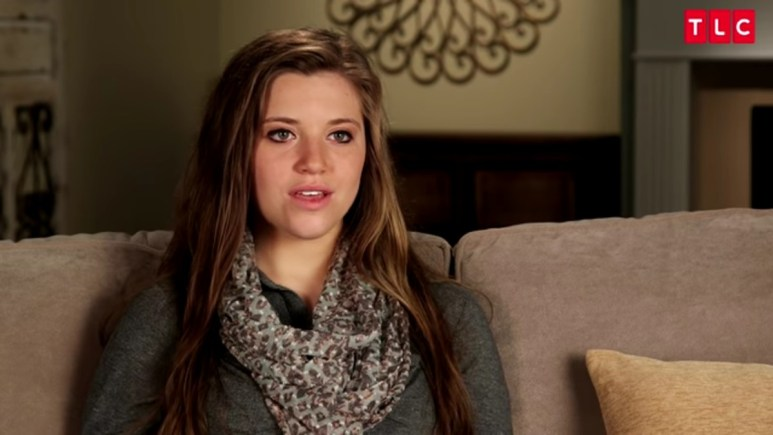 Joy-Anna Duggar in a Counting On confessional.