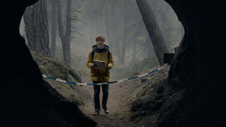 Louis Hofmann in Netflix's series Dark