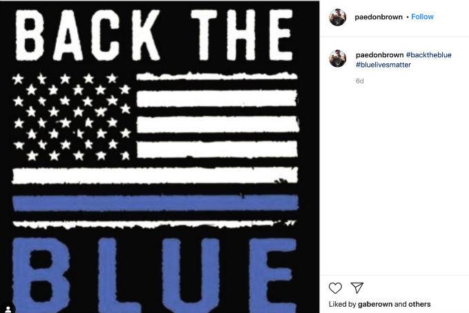 Paedon Brown post