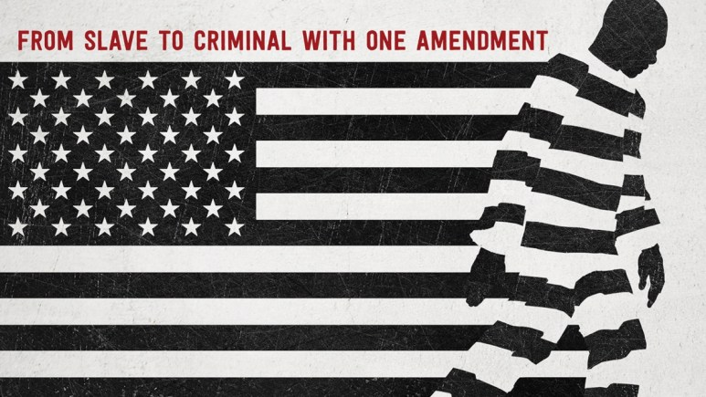 Promotional art for documentary film 13th.