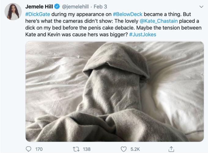 Jemele Hill praises Kate Chastain.