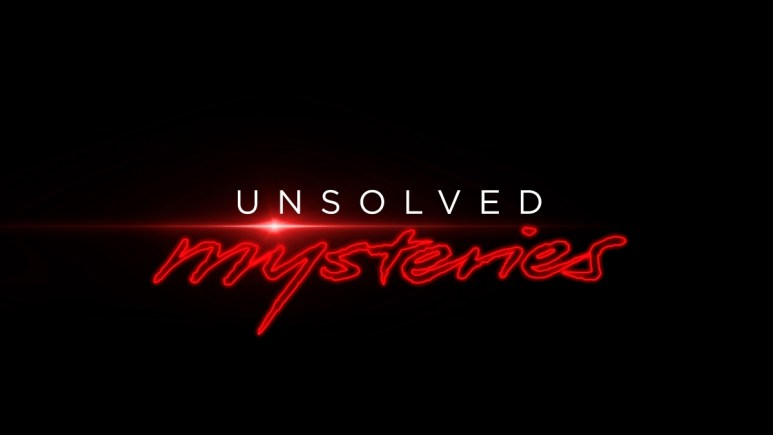 Unsolved Mysteries logo.