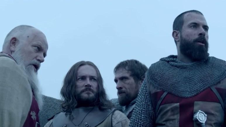 tom cullen as landry in knightfall season 2