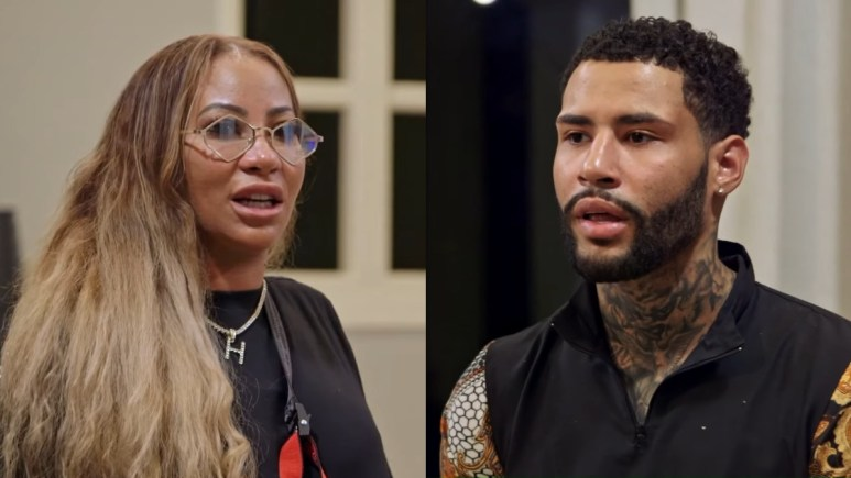Hazel-E and De'Von on Marriage Boot Camp Hip Hop Edition
