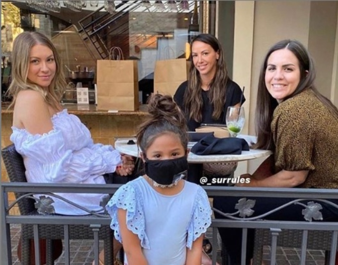 Kristen joins Stassi and Katie for lunch